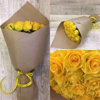 "Bouquet ""The Yellow"""